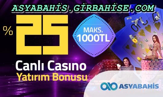 canli casino yatirim bonusu